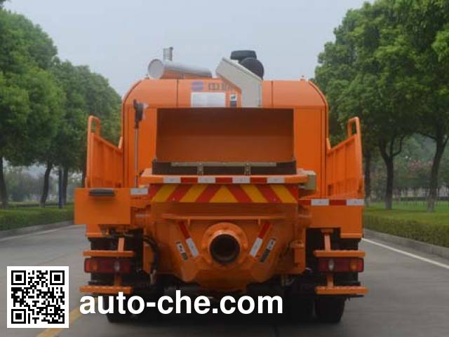 Zoomlion ZLJ5130THBE truck mounted concrete pump