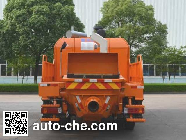 Zoomlion ZLJ5130THBJ truck mounted concrete pump