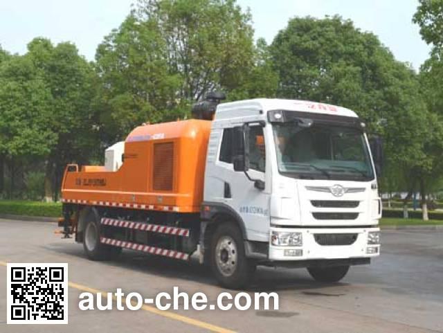 Zoomlion ZLJ5130THBJ truck mounted concrete pump
