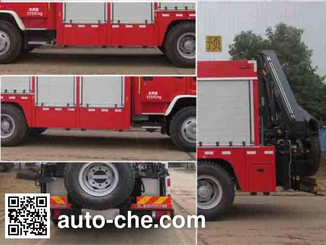 Zoomlion ZLJ5130TXFJY98 fire rescue vehicle
