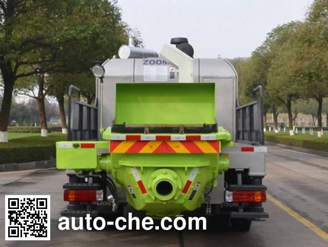 Zoomlion ZLJ5140THBJE truck mounted concrete pump