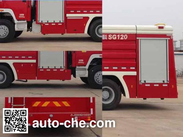 Zoomlion ZLJ5280GXFSG120 fire tank truck
