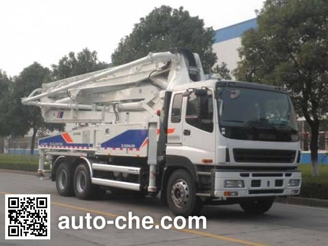 中联牌ZLJ5297THB混凝土泵车