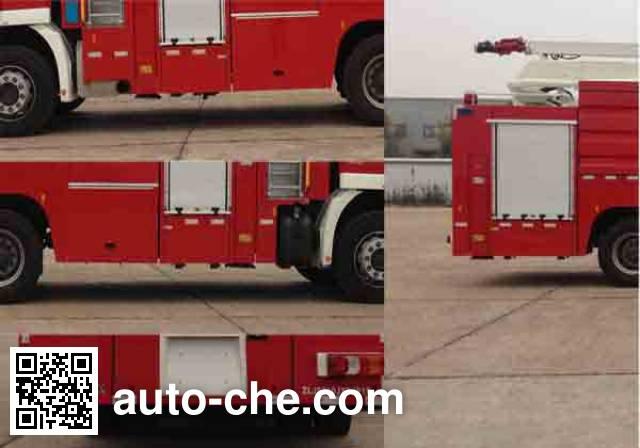 Zoomlion ZLJ5310JXFJP18 high lift pump fire engine