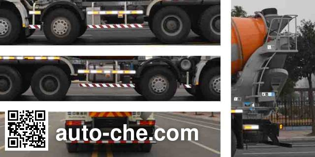 Zoomlion ZLJ5312GJBL concrete mixer truck