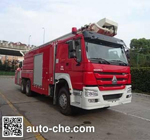 Zoomlion ZLJ5320JXFJP32 high lift pump fire engine