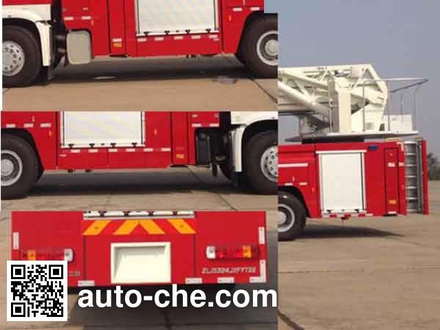 Zoomlion ZLJ5324JXFYT32 aerial ladder fire truck