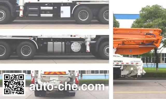 中联牌ZLJ5330THBS混凝土泵车
