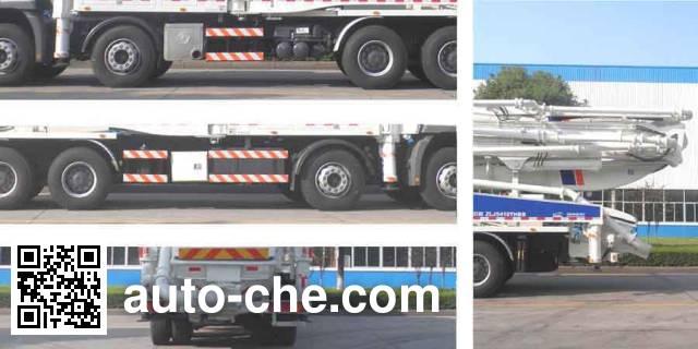 中联牌ZLJ5410THBB混凝土泵车