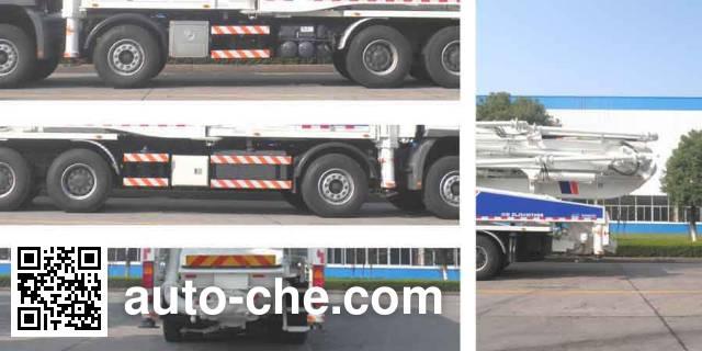 Zoomlion ZLJ5430THBB concrete pump truck