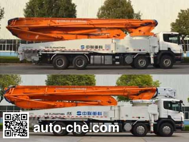 中联牌ZLJ5440THBS混凝土泵车