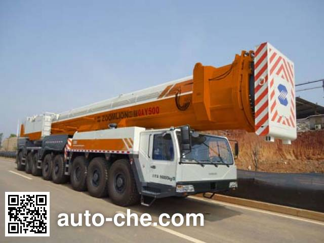 Zoomlion ZLJ5961JQZ500 all terrain mobile crane