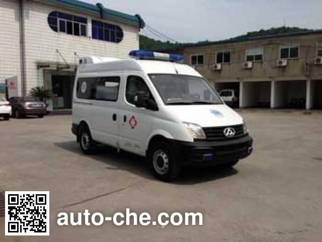 中汽牌ZQZ5034XJH2救护车