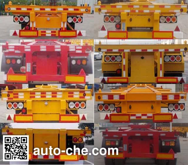 田宇兴牌ZRT9400TJZ集装箱运输半挂车