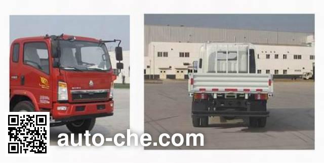 Sinotruk Howo ZZ1107G3815D1 cargo truck