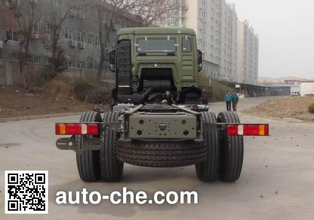 汕德卡牌ZZ1166N461MD1载货汽车底盘