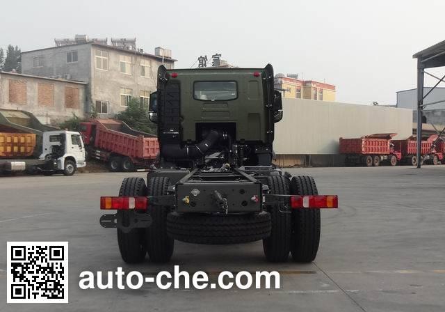 豪沃牌ZZ1167N461MD1载货汽车底盘