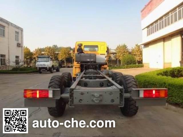 豪沃牌ZZ1257V4347D1载货汽车底盘