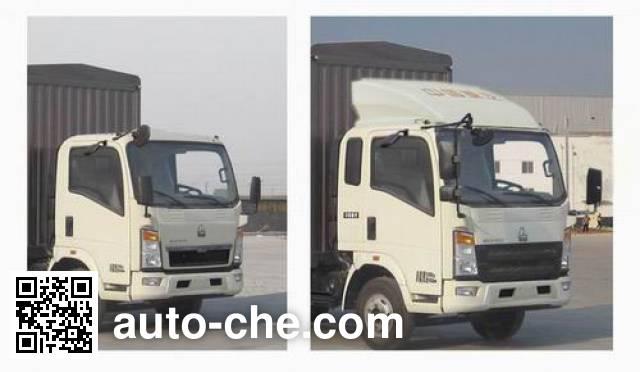 Sinotruk Howo ZZ2047CCYF332CE145 off-road stake truck