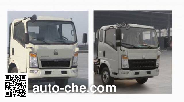 Sinotruk Howo ZZ2047F332CE145 off-road truck chassis