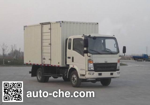 Sinotruk Howo ZZ2047XXYF342CD145 cross-country box van truck