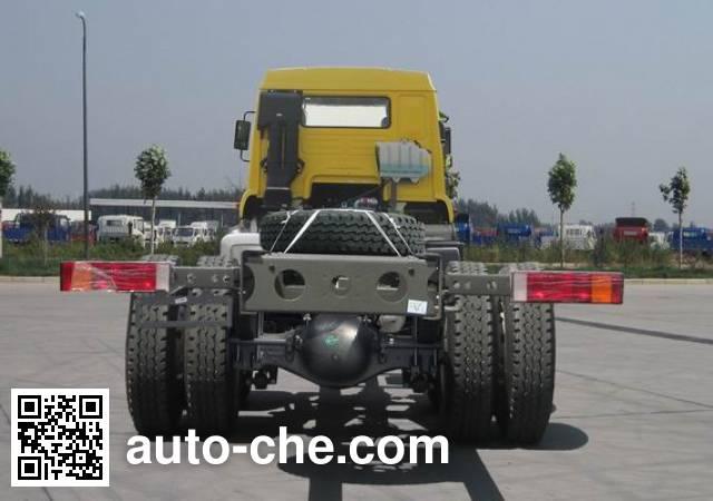 Sida Steyr ZZ3121K471GD1 dump truck chassis