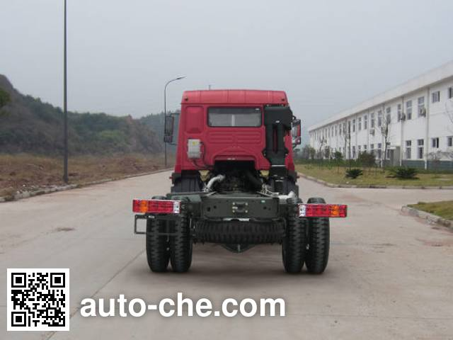 Homan ZZ3168G10DB1 dump truck chassis
