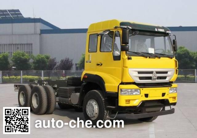 Sida Steyr ZZ3251N414GD1 dump truck chassis