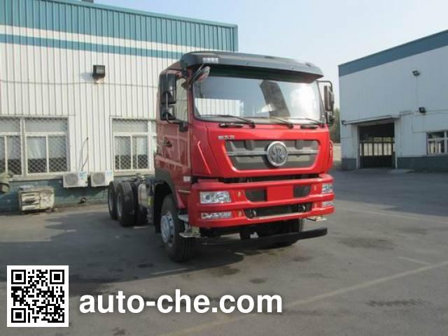 Sida Steyr ZZ3253N4141E1N dump truck chassis