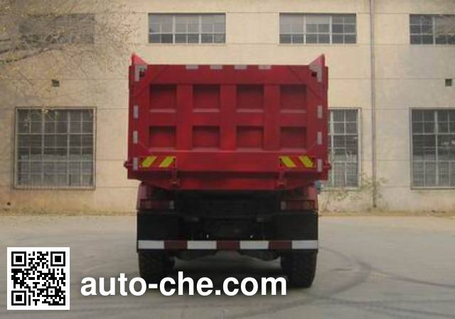 豪泺牌ZZ3257N3657C1D越野自卸汽车