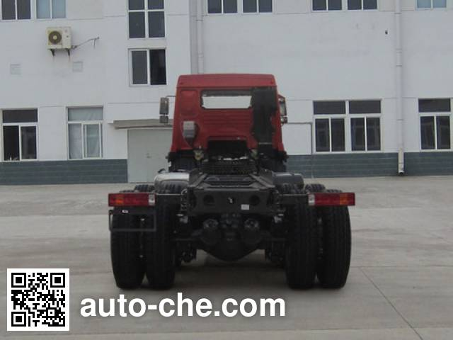 Homan ZZ3258M40DB0 dump truck chassis