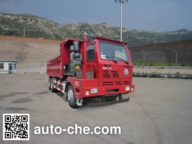 威泺牌ZZ3259M384PD3自卸汽车