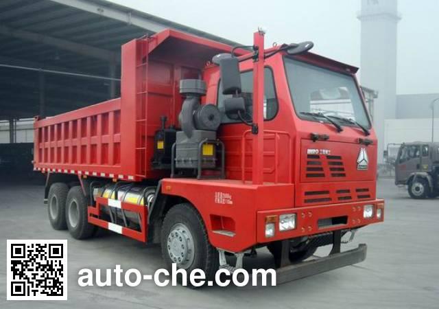威泺牌ZZ3259N414PE3L自卸汽车