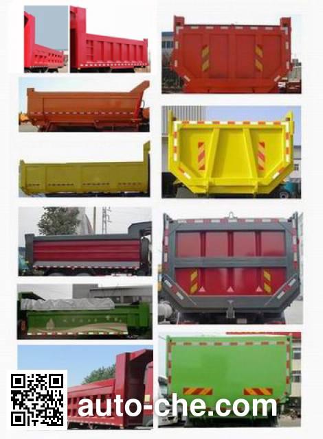 Sinotruk Howo ZZ3317N4667D1M methanol/diesel dual fuel dump truck