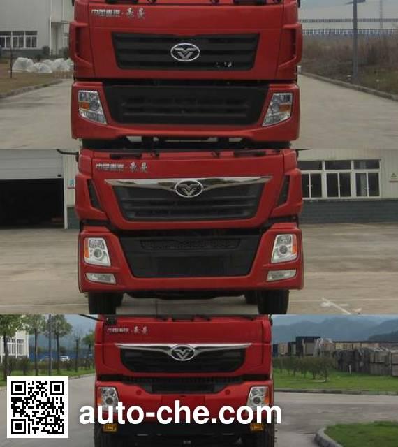 Homan ZZ3318M60EB0 dump truck chassis