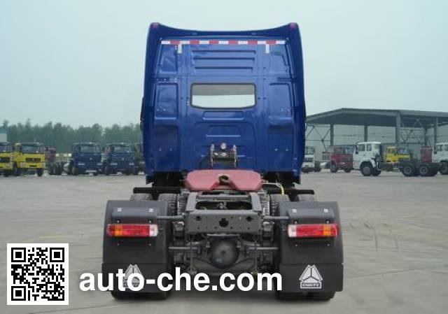 威泺牌ZZ4189N461CC1Z集装箱半挂牵引车