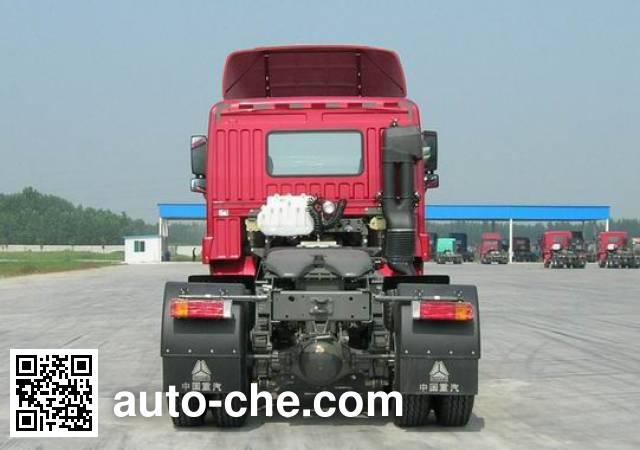 豪运牌ZZ4255N2945C1Z集装箱半挂牵引汽车