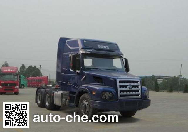 Sinotruk Wero ZZ4259N394CC1Z container carrier vehicle