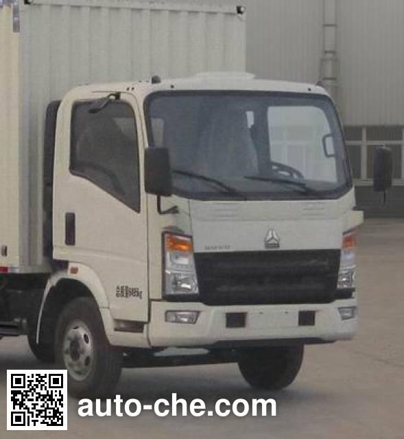 Sinotruk Howo ZZ5047XXYE281AD1Y45 box van truck