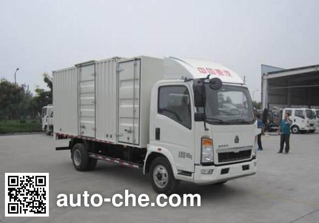 Sinotruk Howo ZZ5077XXYB3614Z1BEV electric cargo van