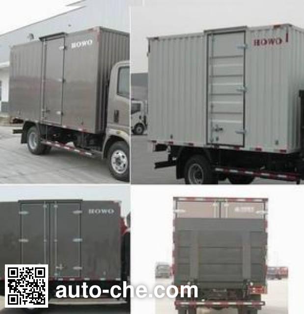 Sinotruk Howo ZZ5077XXYF3414Z174BEV electric cargo van