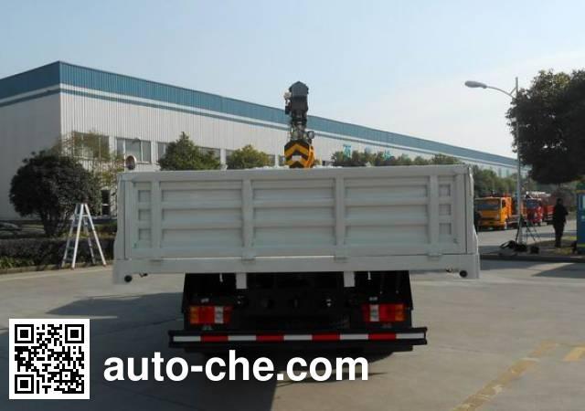Sinotruk Howo ZZ5107JSQG421CE1 truck mounted loader crane