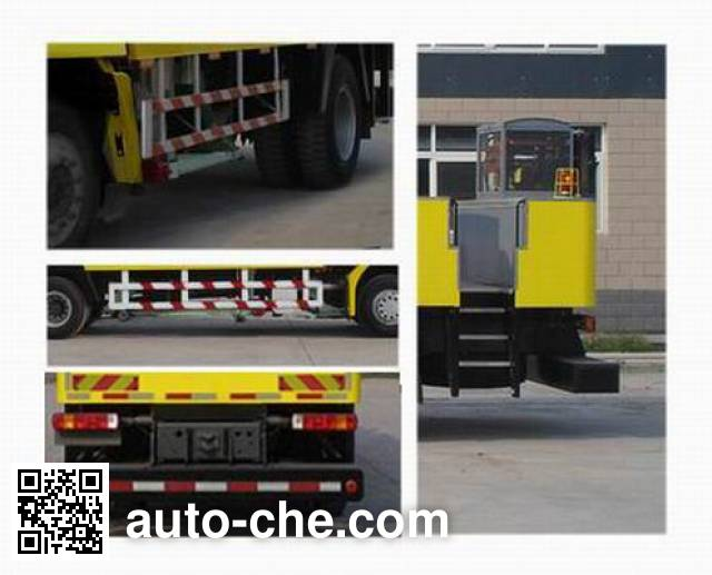 Sida Steyr ZZ5156TLCM6016C1 road testing vehicle
