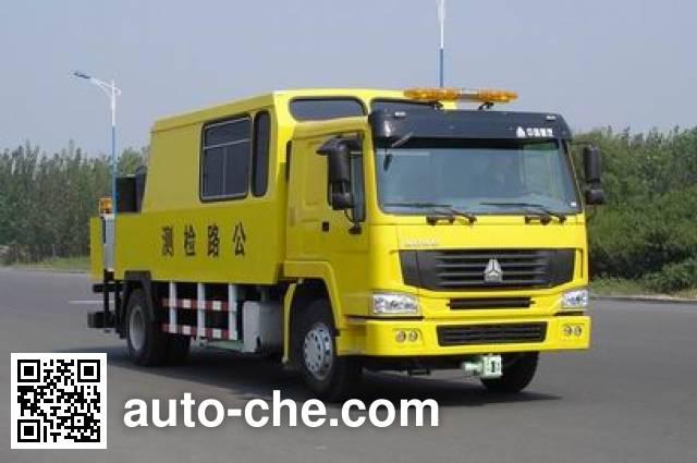 Sinotruk Howo ZZ5157TLCN5618W road testing vehicle