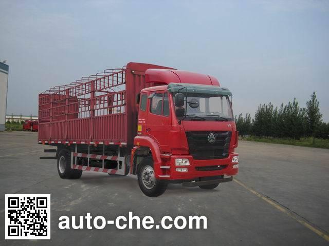 豪瀚牌ZZ5165CCYM5213E1仓栅式运输车