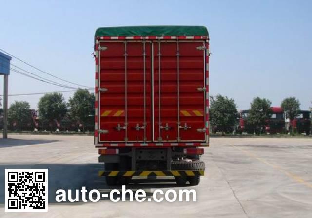 豪瀚牌ZZ5165CPYF5213C1蓬式运输车