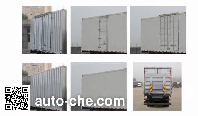 Sinotruk Howo ZZ5187XLCK561GE1 refrigerated truck