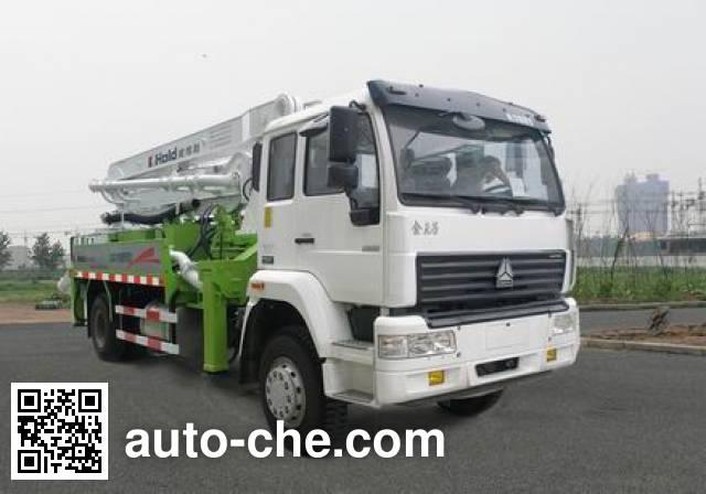 Sida Steyr ZZ5191THBM5011A concrete pump truck