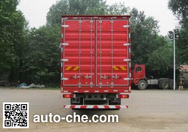 Sida Steyr ZZ5203XXYM56CGE1B box van truck