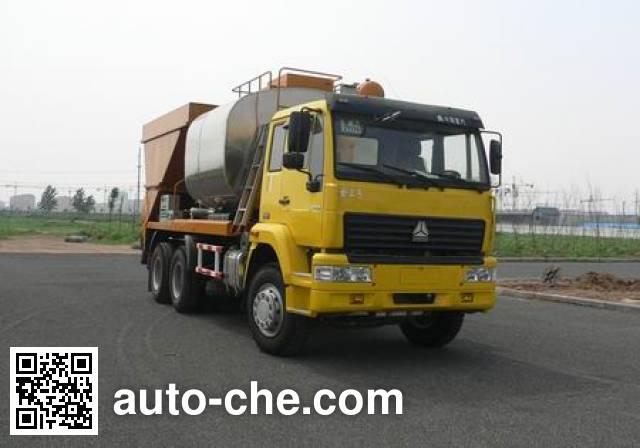 Sida Steyr ZZ5251TLSM3841W synchronous chip sealer truck